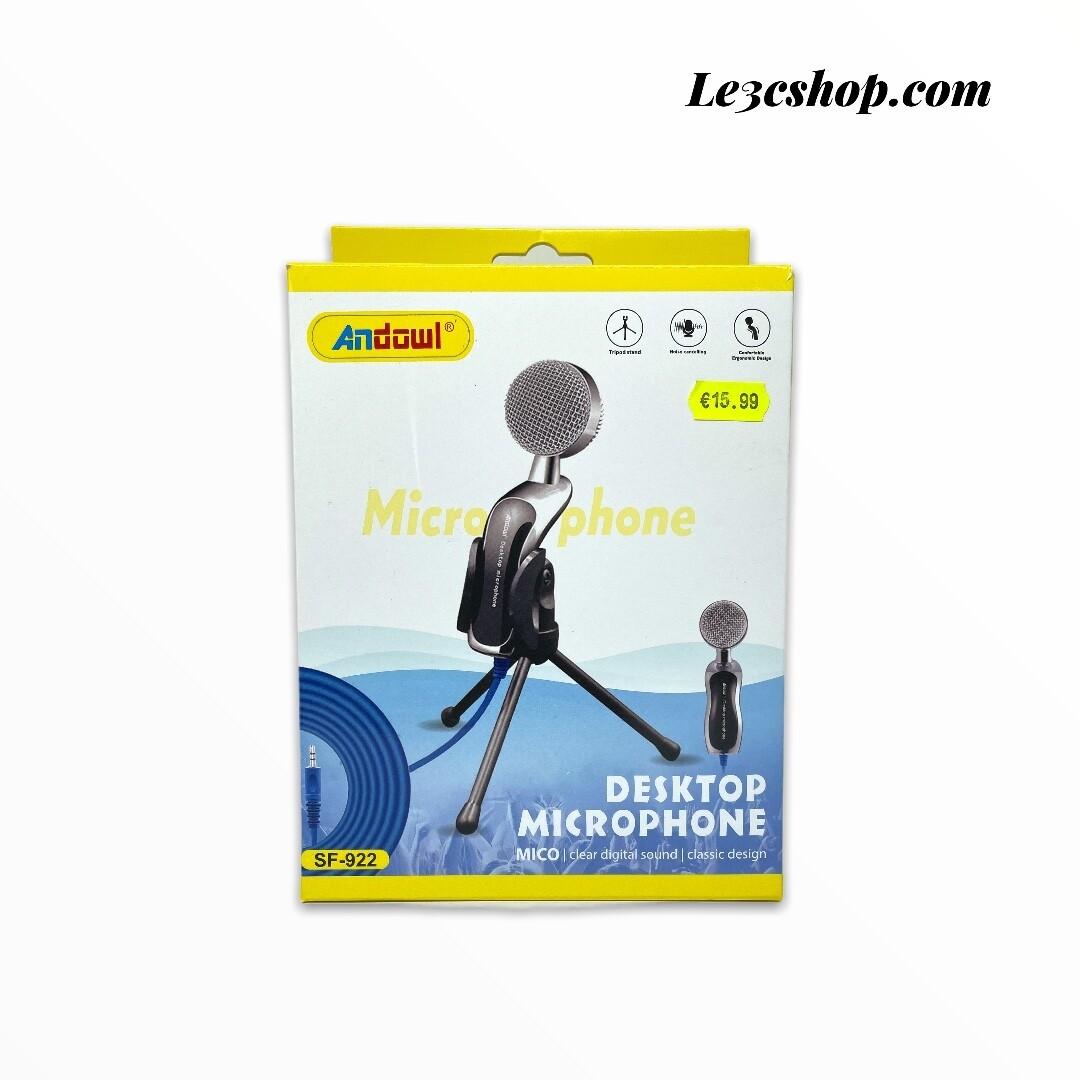 Microfono a condensatore da tavolo andowl SF-922