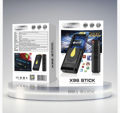 X96 tv stick Android
