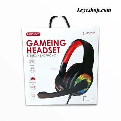 Cuffia gaming maxam ej-0302m stereo