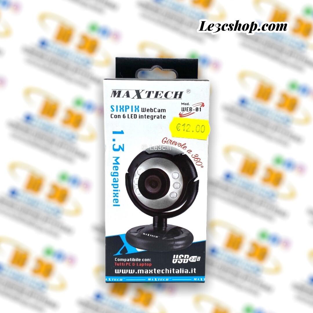 Webcam maxtech da 1.3 mega pixel