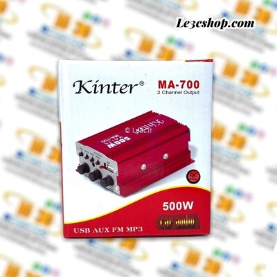 Amplificatore kinter MA-700 2 channel output 500w car audio