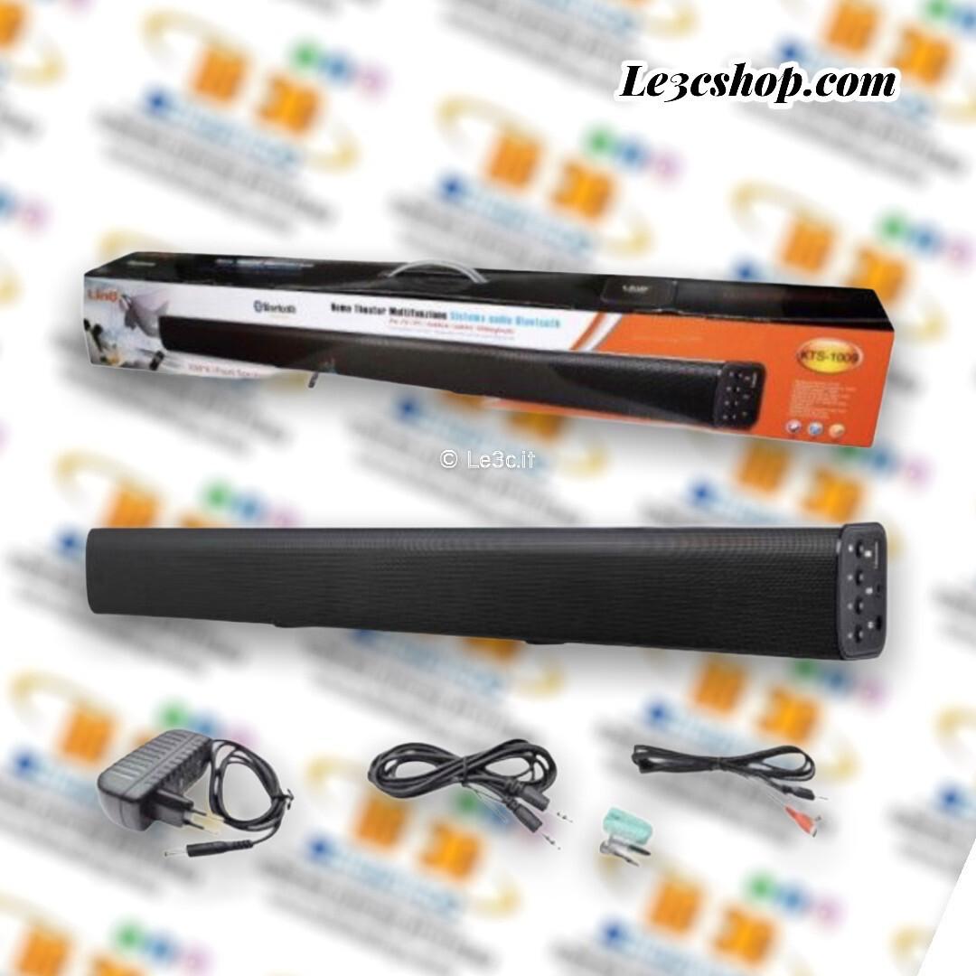 Soundbar home linq KTS-1009 multifunzione con telecomando.