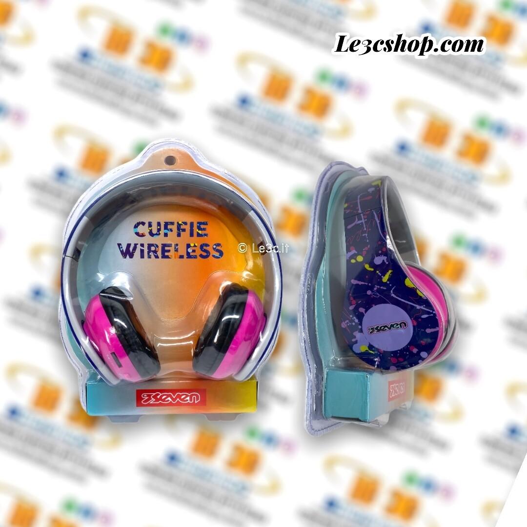 cuffia wireless headphone seven