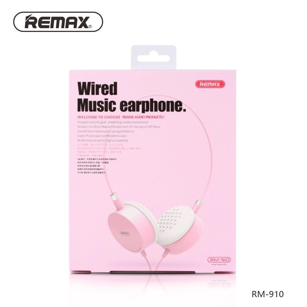 Remax wired cuffia Portatile HIFI