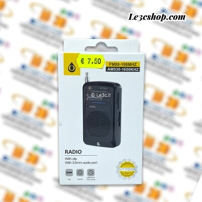 radio portatile unico nt7005