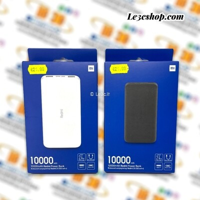 Powerbank Xiaomi MI Redmi 10000mAh MicroUSB/USB-C Originale 2 Uscite