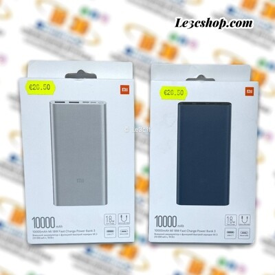 Xiaomi mi power bank 3 10000mah fast charge