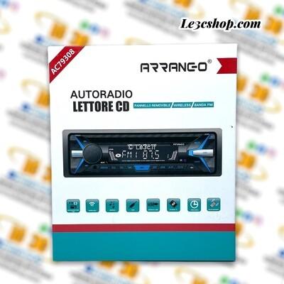 Autoradio Arrango ac79308 mp3 con lettore cd e bluetooth