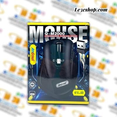 Mouse da gioco andowl wireless