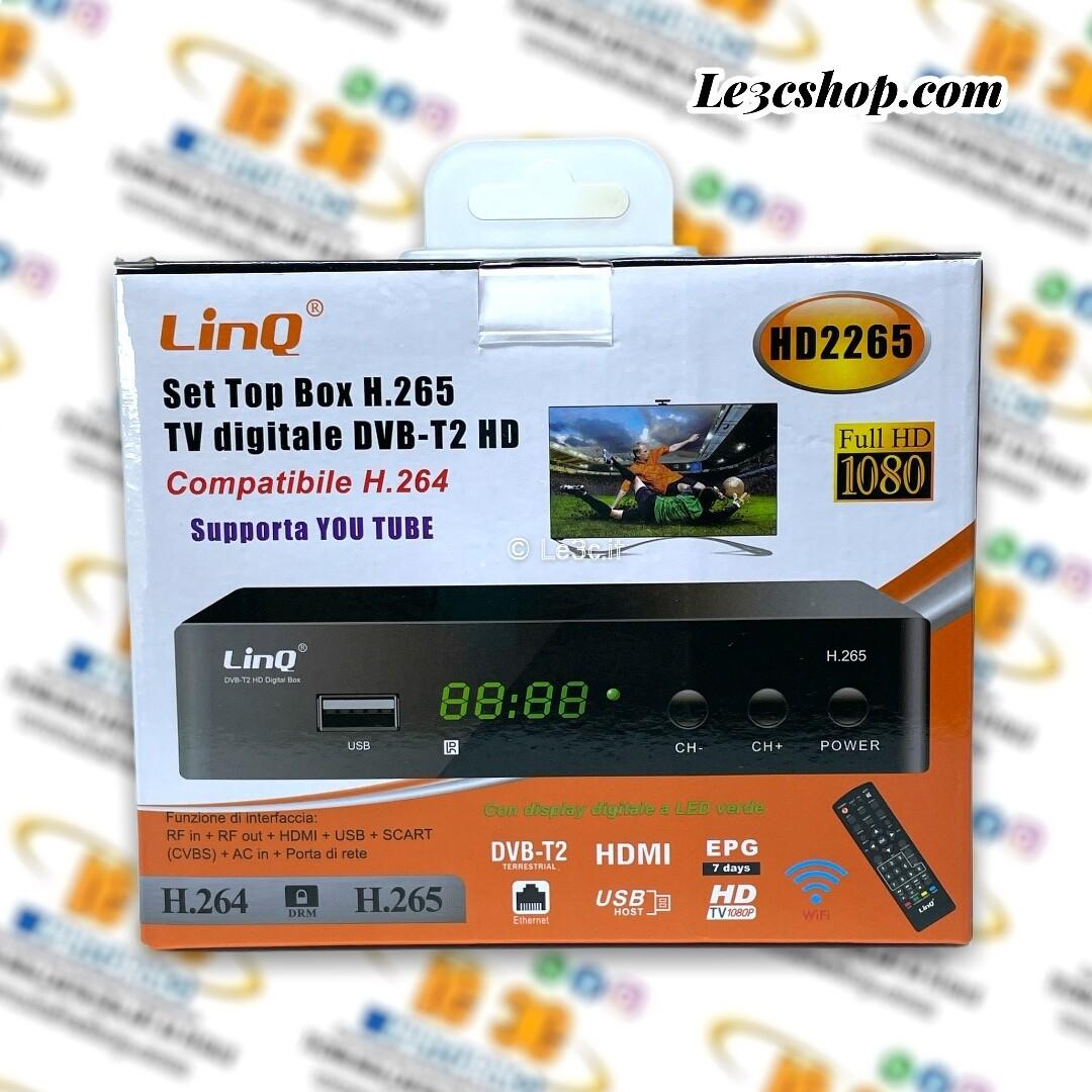 Decoder digitale terrestre Linq h265 HD