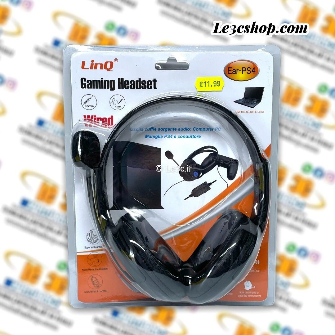 Cuffia Gaming headset linq