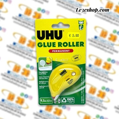 COLLA ROLLER UHU PERMANENT MM. 6,5 X 9,5 MT.