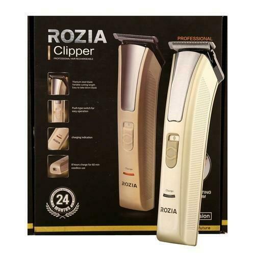 Trimmer per capelli ricaricabile Rozia HQ228 con 4 pettini regolabili