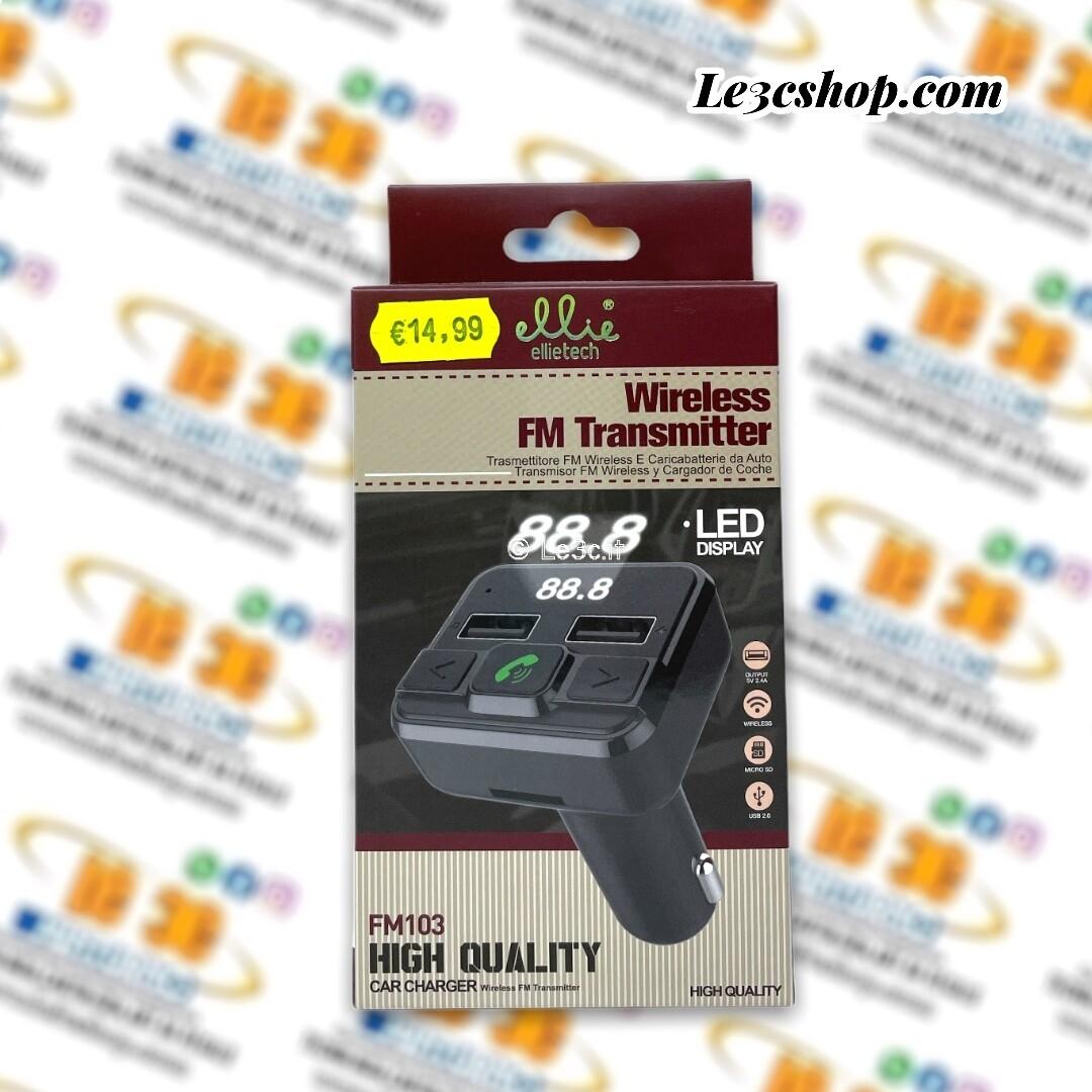 wireless fm Transmitter ellietech FM103