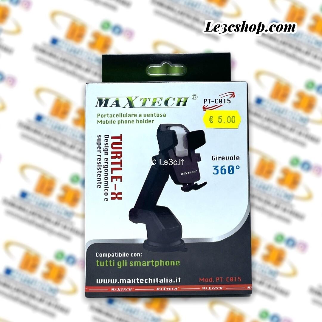 Portacellulare a ventosa turtle-x maxtech PT-C015