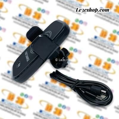Caricabatteria wireless auto a induzione montaggio a clip bw-wc01