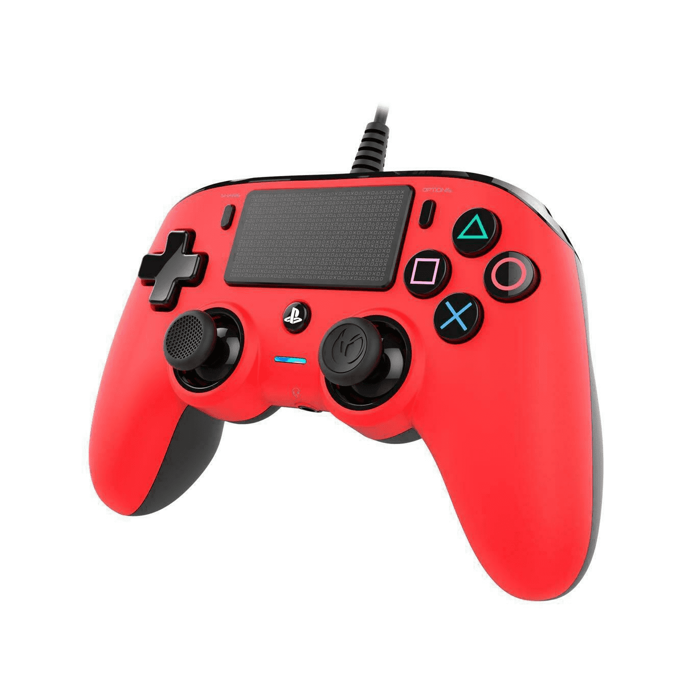 Nacon Controller Wired Rosso Ps4
