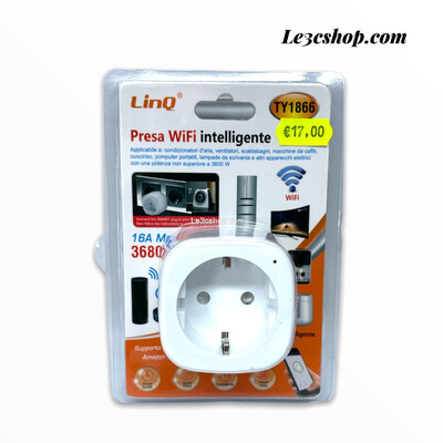 Presa wifi inteligente Linq TY1866