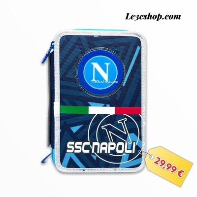 Astuccio 3 zip Napoli Cacio Seven 2021/2022