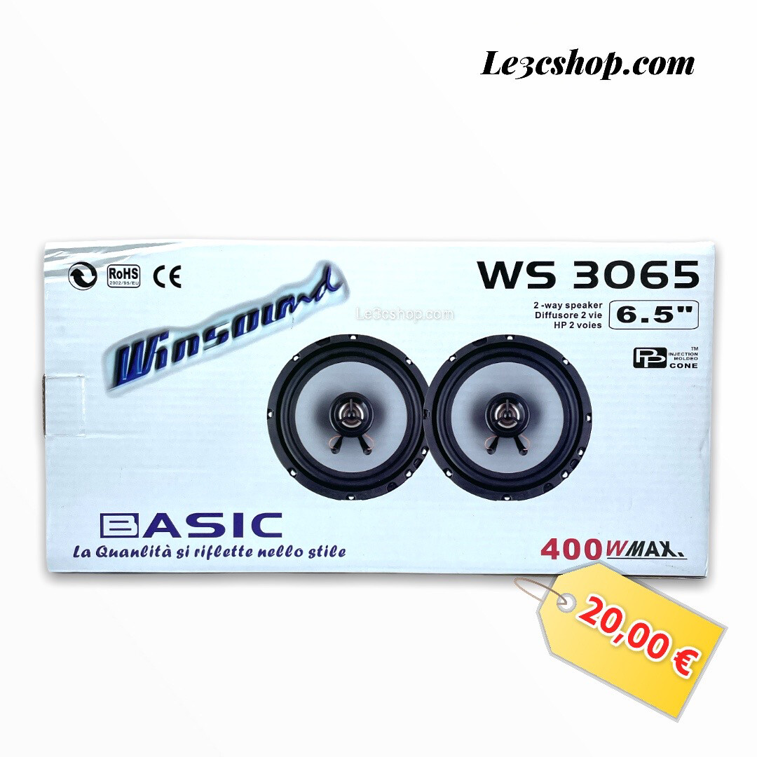 Speaker Coassiali Auto Windsound