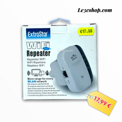 Repeter Wifi Extrastar 300 mbps