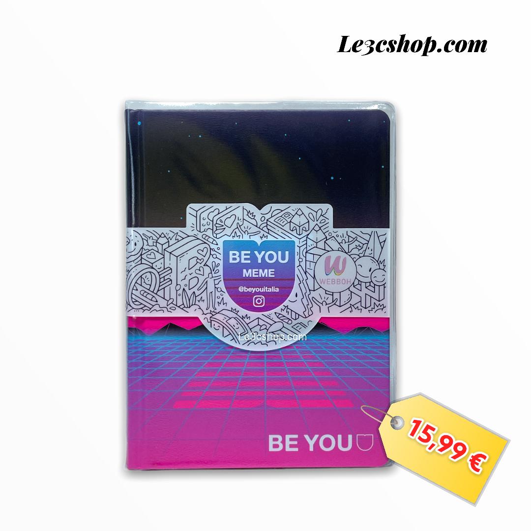 Be You Diario MEME Formato Big, Collezione 21/22 18x13