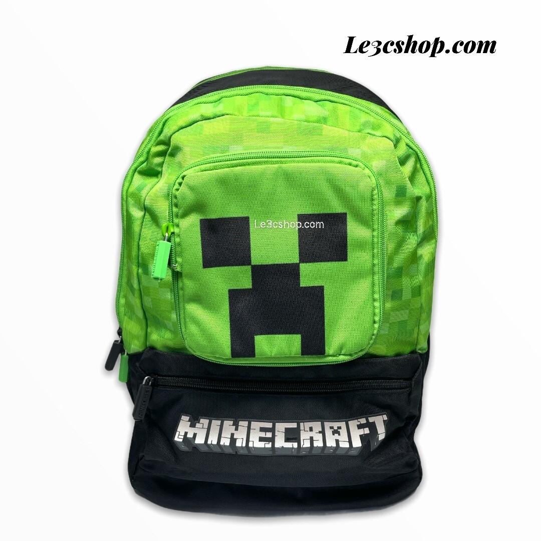 Zaino organizzato Minecraft panini