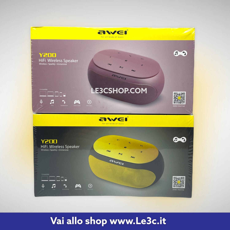 Awei Y200 Touch Portatile Esterna bluetooth