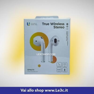 Auricolari senza filo true stereo unico ep9273