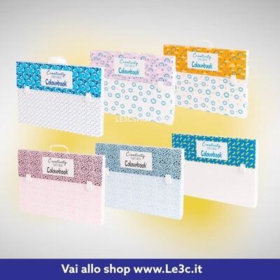 Valigetta Cartella polionda Creativity dorso 38x53x5