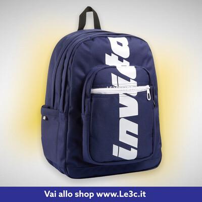 ZAINO JELEK INVICTA Blu con Logo