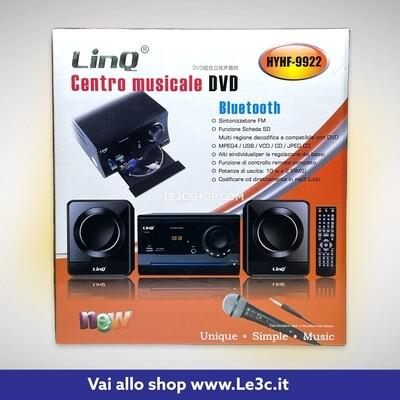 Centro musicale DVD Linq Karaoke HYHF-9922