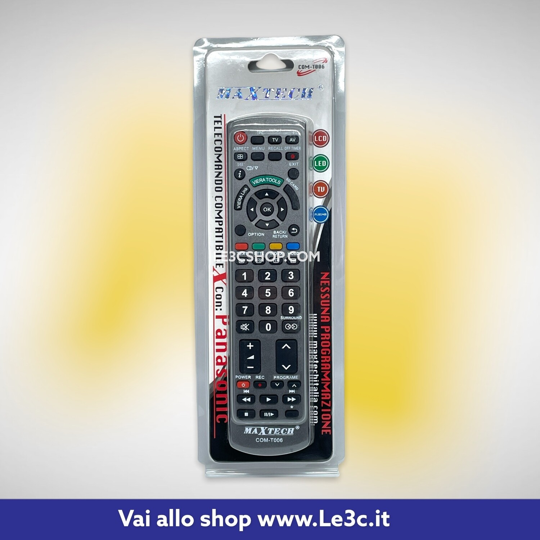 telecomando compatibile panasonic maxtech