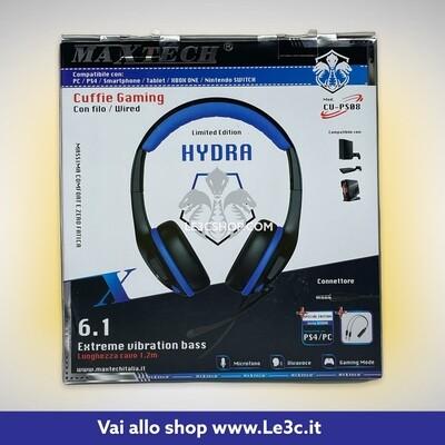 Cuffia Gaming Maxtech PS4 e PC Hydra cu-ps08
