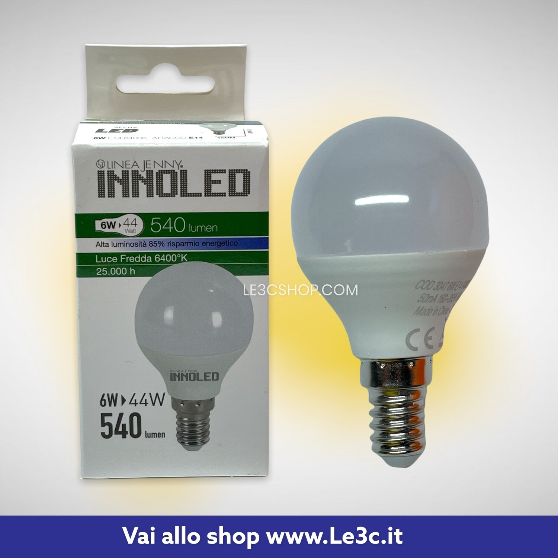 Lampadina Innoled Linea Jenny 6w  = 44w 540 lumen 6400K E14