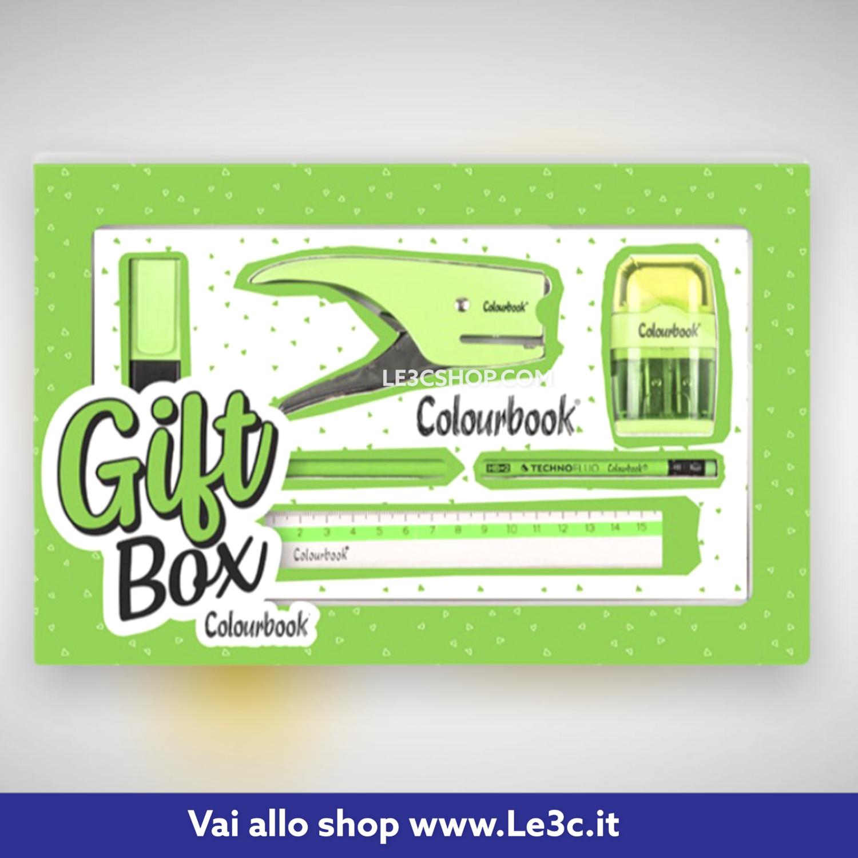 Gift box Colourbook pastel e fluo