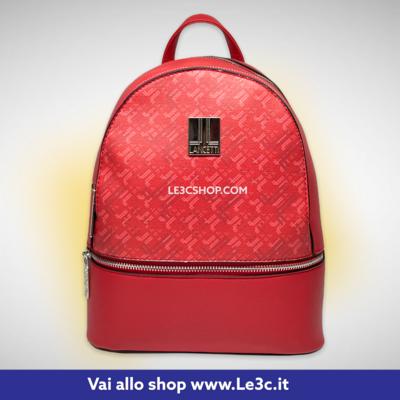 Zainetto Lancetti Rosso 25x23x10