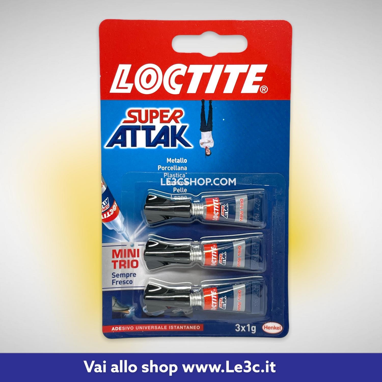 Loctite Super Attak Minitrio Liquido 3x1g