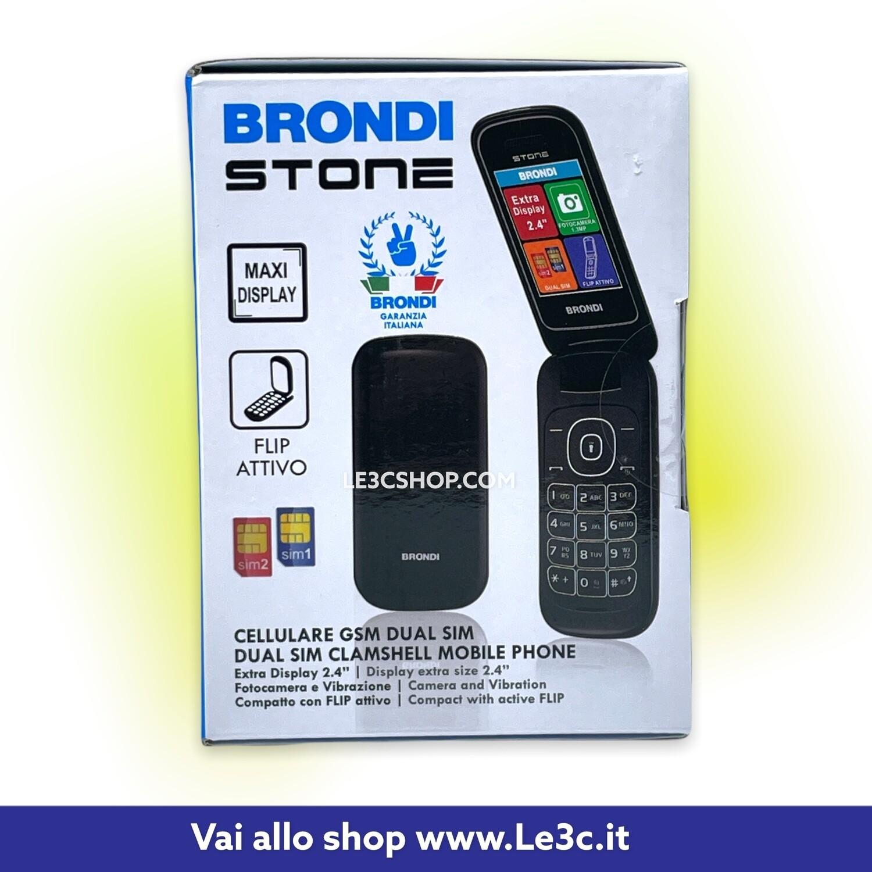 """Brondi Stone 6,1 cm (2.4"""") 86 g Nero Telefono cellulare basico"""