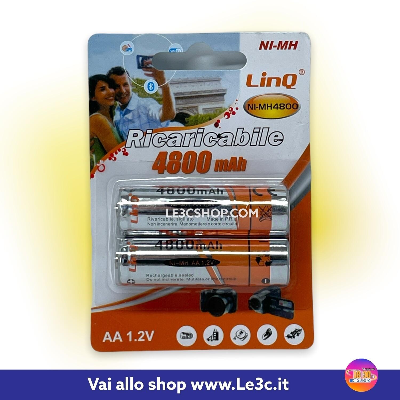 batterie ricaricabili stilo AA linq NL-MH 1.2v
