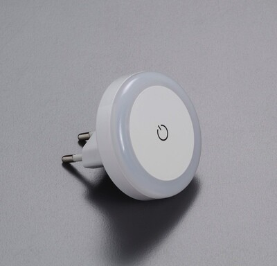 Luce notturna LED touch con spina 10A -  -
