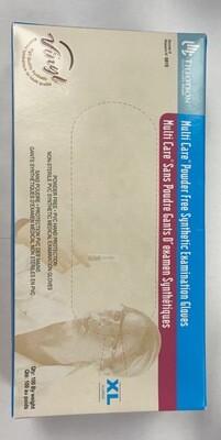 100 Tillotson MultiCare Powder Free Synthetic Examination Gloves
