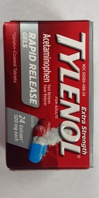 Extra Strength Tylenol For Adults
