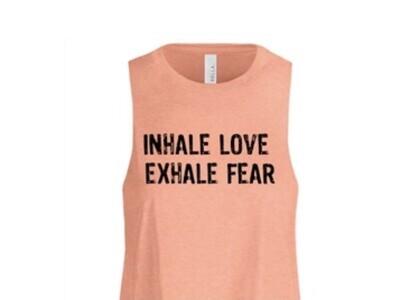 Sunset Heather Inhale Love Exhale Fear
