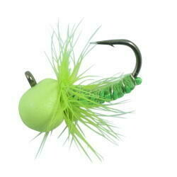NORTHLAND  TUNGSTEN PUNCH FLY GOL CHARTREUSE1/24OZ