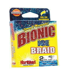 NORTHLAND FISHING TACKLE BIONIC ICE BRAID 6LBS