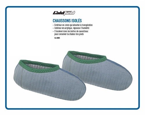 COLDFIELD CHAUSSONS ISOLÉS  (6-7)