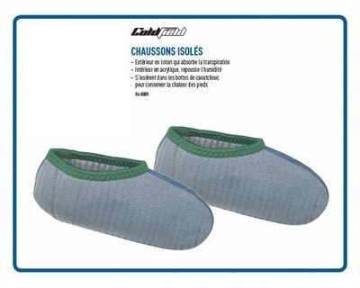 COLDFIELD CHAUSSONS ISOLÉS  (8-9)