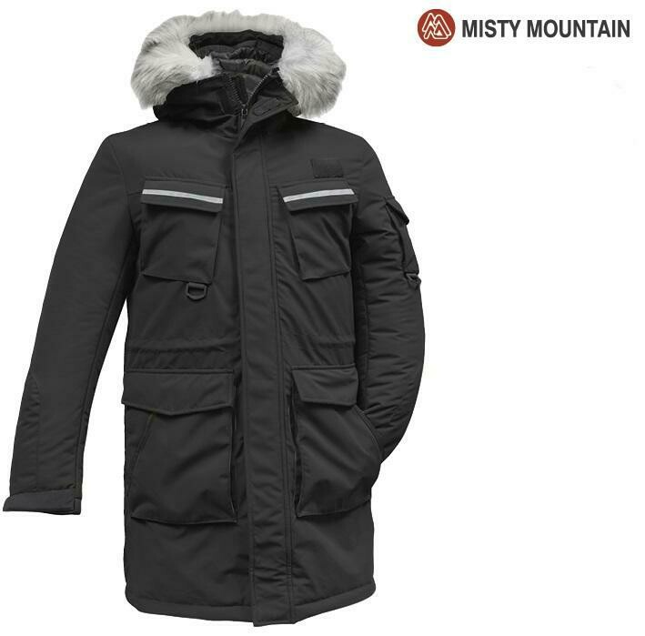 MISTY MOUNTAIN MANTEAU EXPEDITION NOIR (H) (XL)