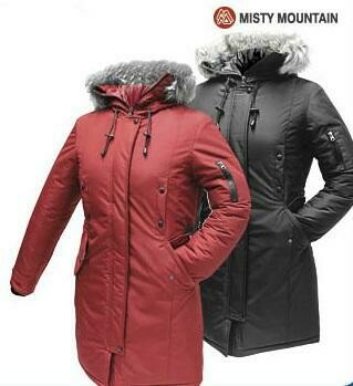 MISTY MOUNTAIN MANTEAU PRODIGY OUTERWEAR CHARCOAL (F) (XL)